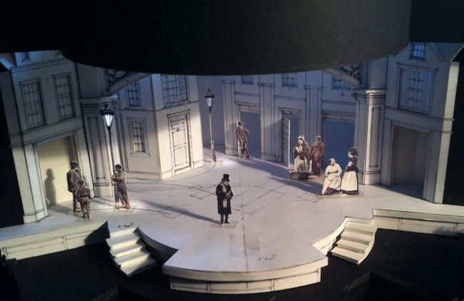 Christmas Carol, Actors Theatre of Louisville | Scenic design, Set design theatre, Stage costume ...