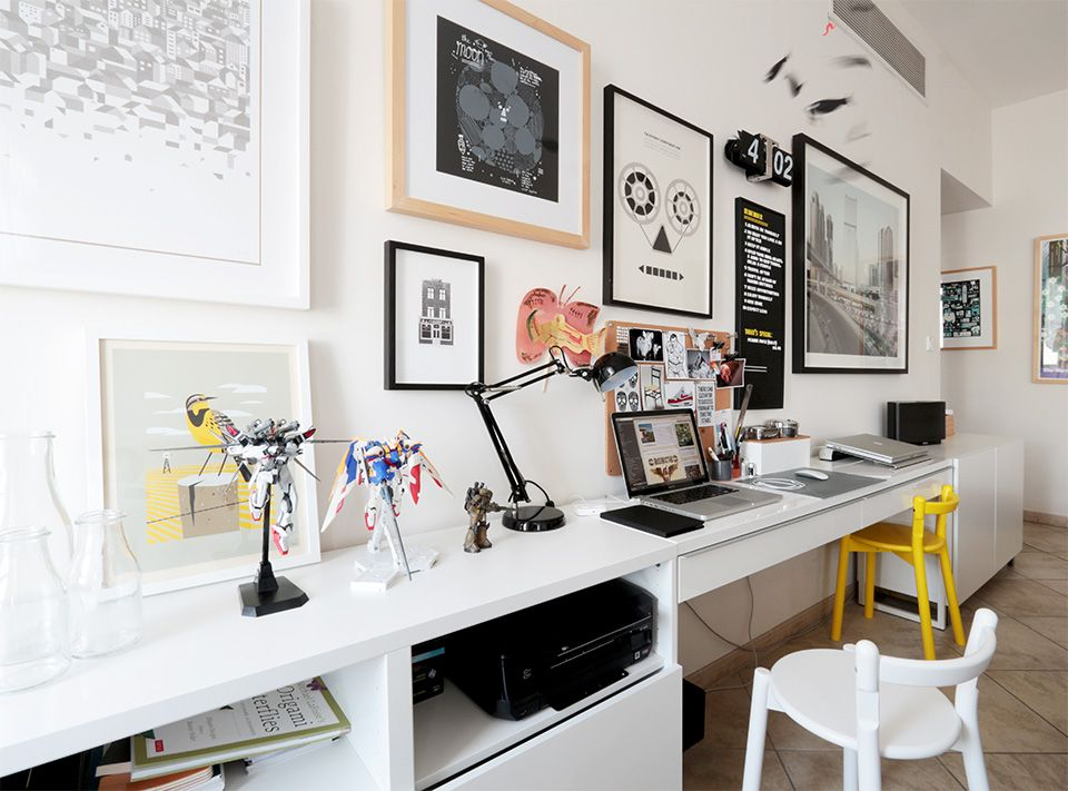 James Mattison - Senior Graphic Designer - Dubai - Home work space ...