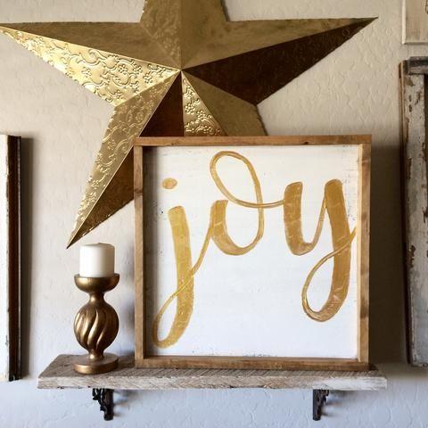 Farmhouse Joy Sign