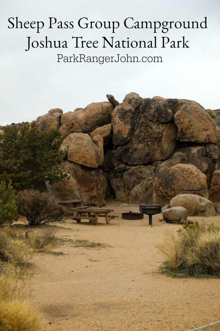 Sheep Pass Group Campground Joshua Tree National Park