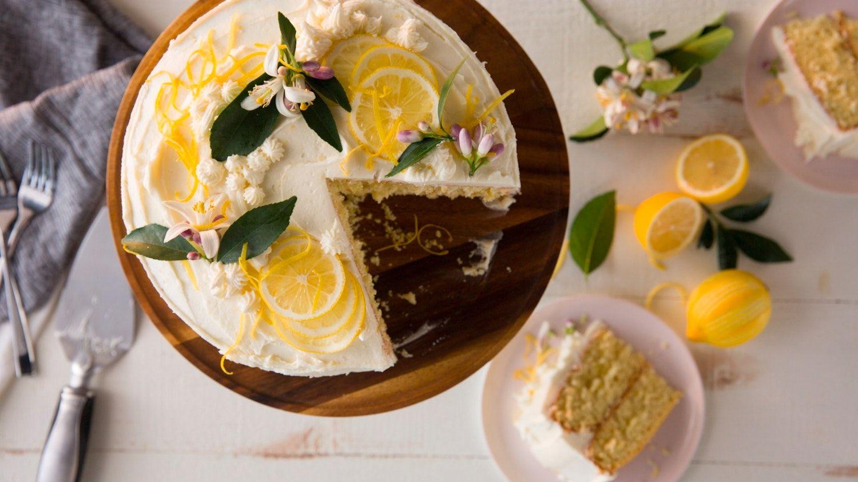 Recipe: Lemon Butter Cake | Recipe | Butter cake, Recipes, Food