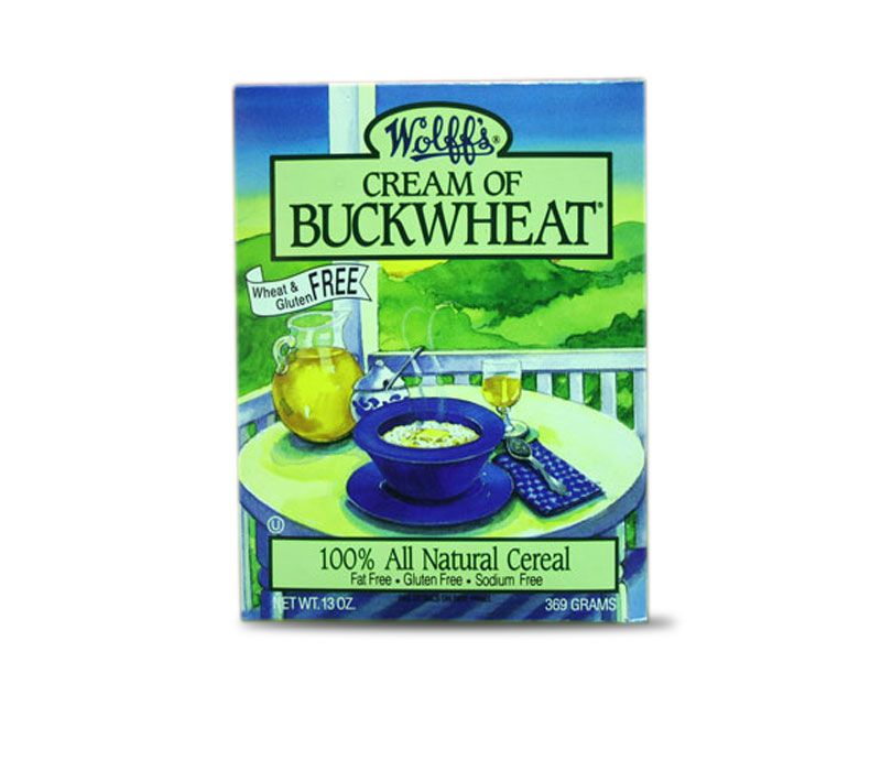 The Birkett Mills: 100% buckwheat, makes for a great, quick and filling breakfast