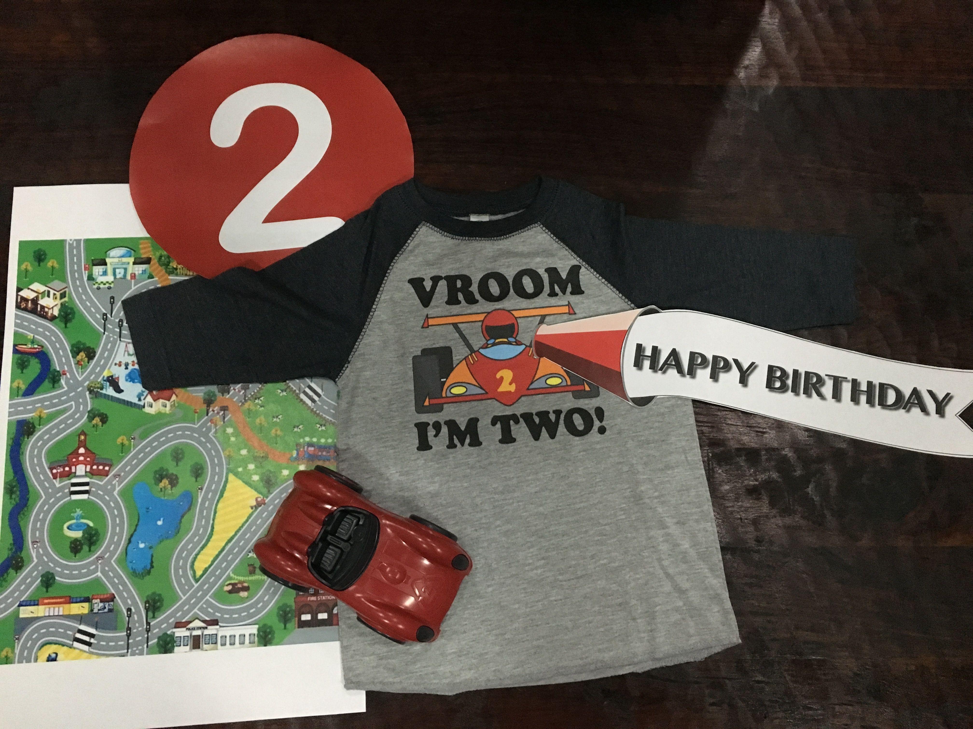 Pin On Retro Race Car Birthday Party Theme