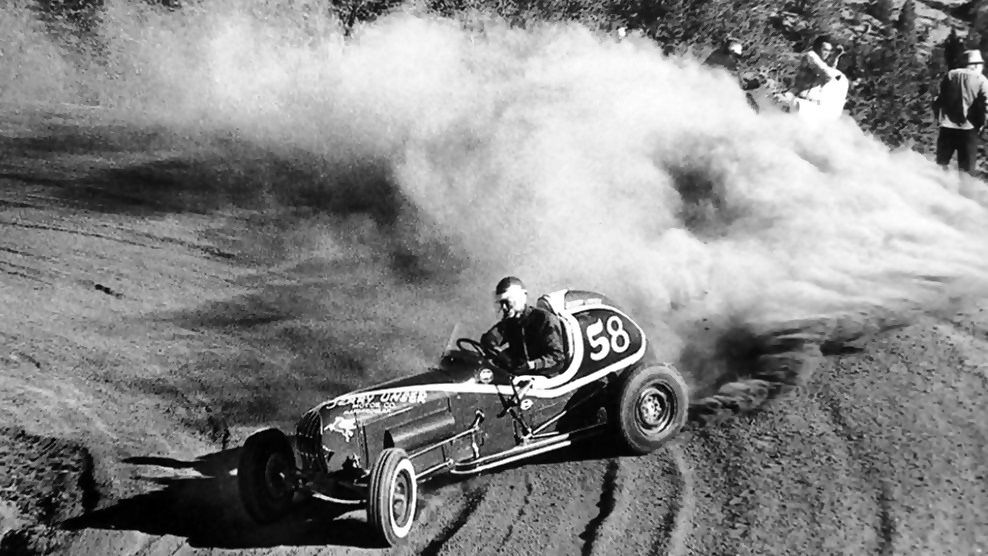 Bobby Unser On His Way To Victory At Pikes Peak, 1956. | Pikes Peak, Hill  Climb Racing, Sprint Cars