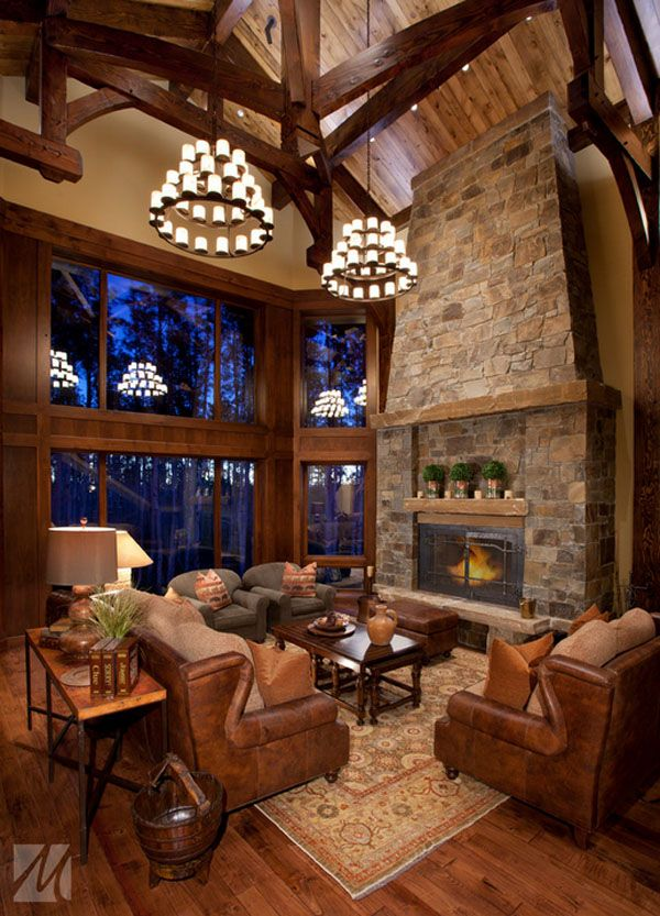 47 Extremely Cozy And Rustic Cabin Style Living Rooms Rustic Living Room Design Cabin Style Living Room Decor Cozy
