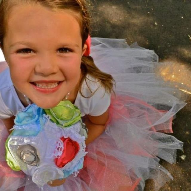 One of my beautiful flower girls! :)
