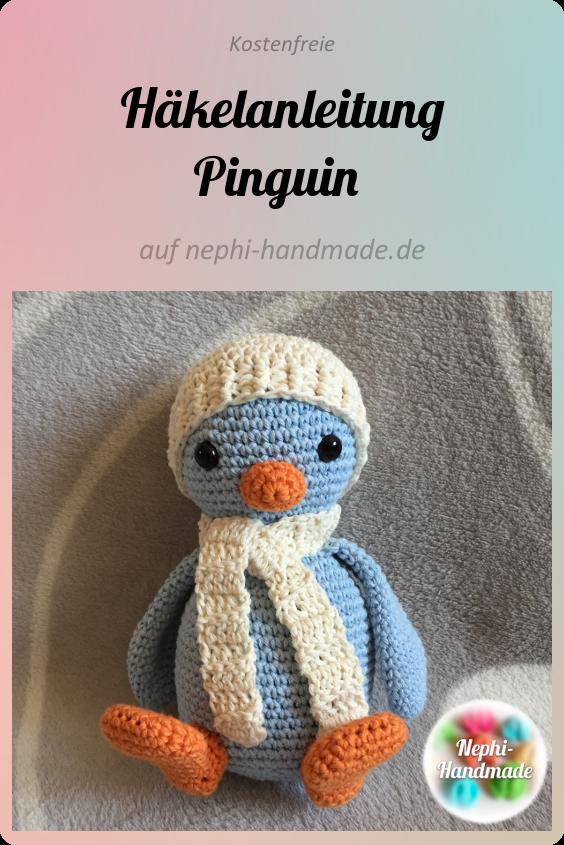 freie Häkelanleitung Pinguin