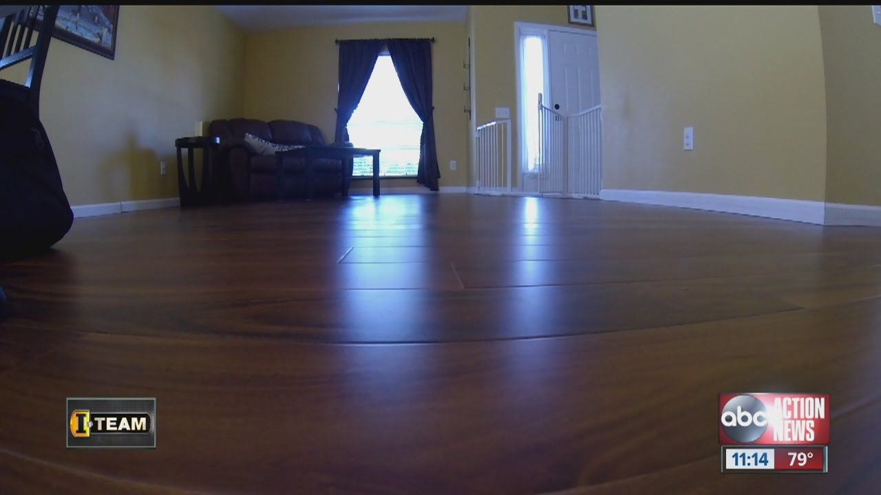 Dangerous gas leaking from flooring sold by Lumber