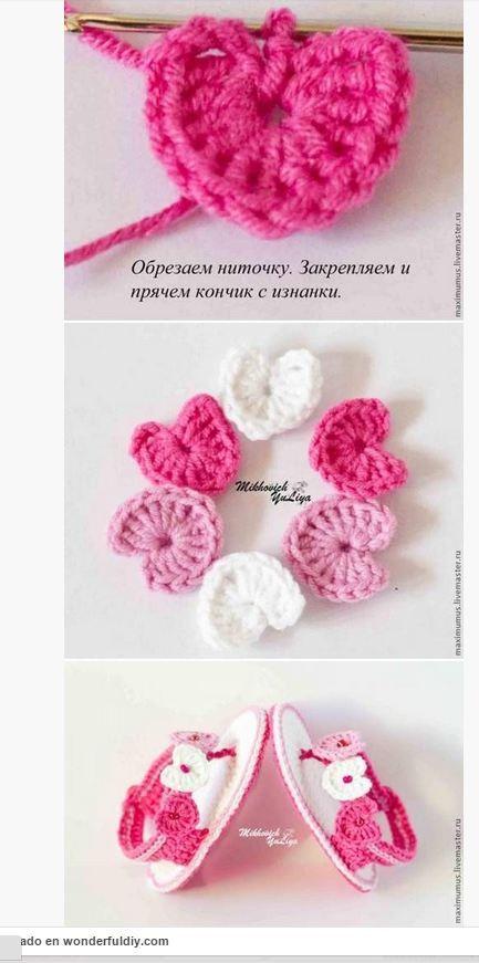 908722fd8 Cómo tejer sandalias crochet para bebé - Paso a Paso