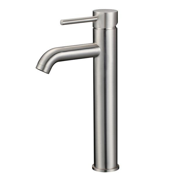 single handle bathroom sink faucet reviews allmodern powder rh pinterest ca