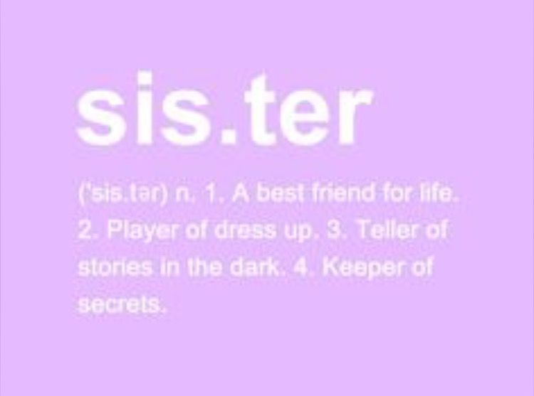 Sister Quote Quotes Sister Definition Framed Prints Definitions
