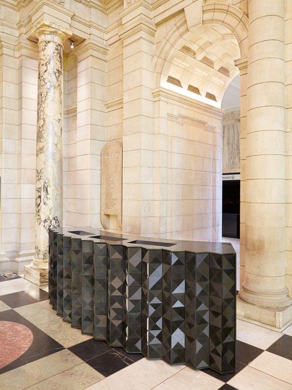 Louvres desk by giles miller studio interior pinterest for Hoteles diseno paris