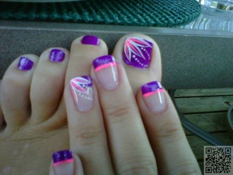 12. #Matching - Fun Summer #Pedicure Ideas to Make Your Feet #Stand ...