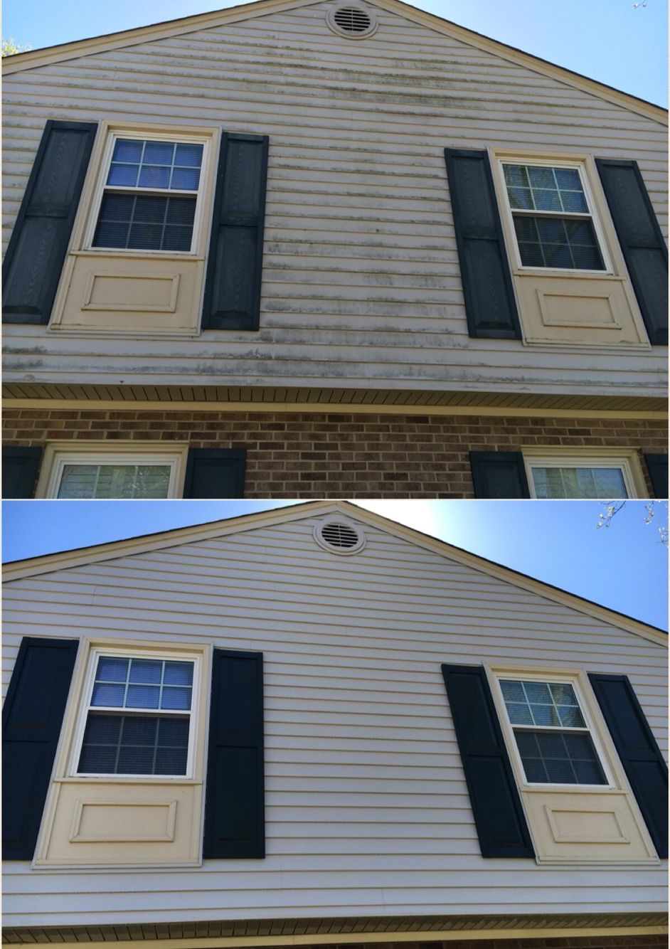 House Wash Pressure Washing Siding Cleaning Power Washing Services