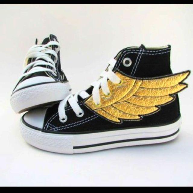 with Zapatos Superhero Superhero Zapatos Pinterest craft wings gold YndZqa 8aae50