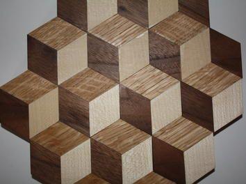 holzwandbild 3d optische t uschung anleitung zum selber. Black Bedroom Furniture Sets. Home Design Ideas