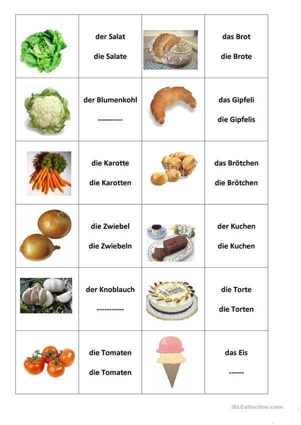 Lebensmittel kennenlernen