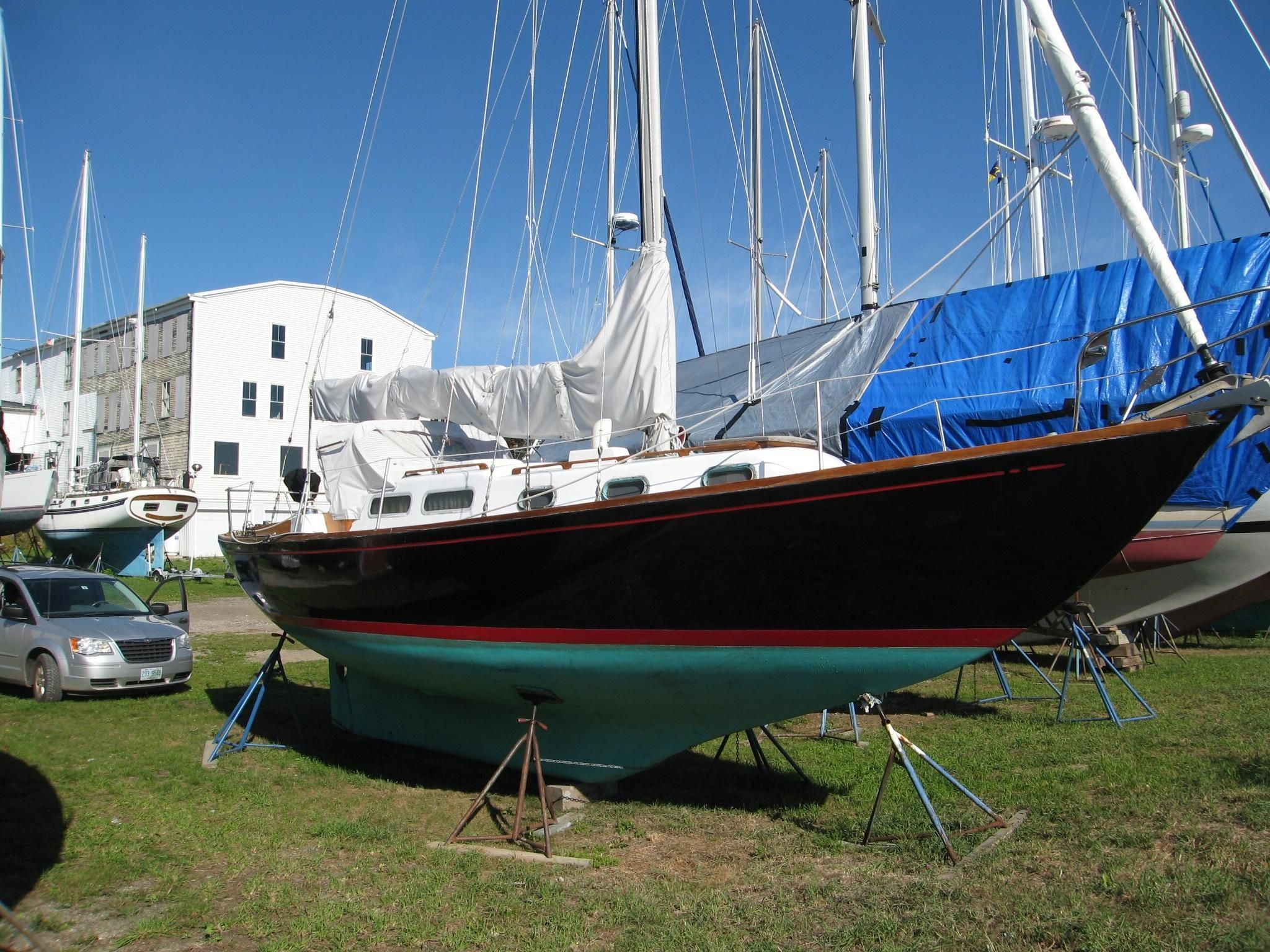 1966 Allied Seabreeze 35 Sail Boat For Sale - www yachtworld