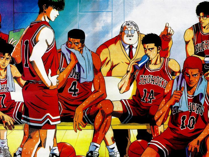 Slam Dunk Personajes de videojuegos, Personajes de anime
