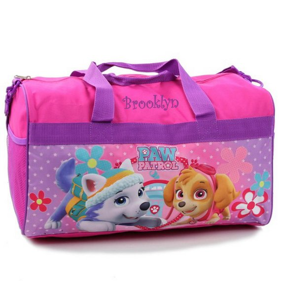 29810e61453a Personalized Paw Patrol Kids Travel Duffel Bag - 18