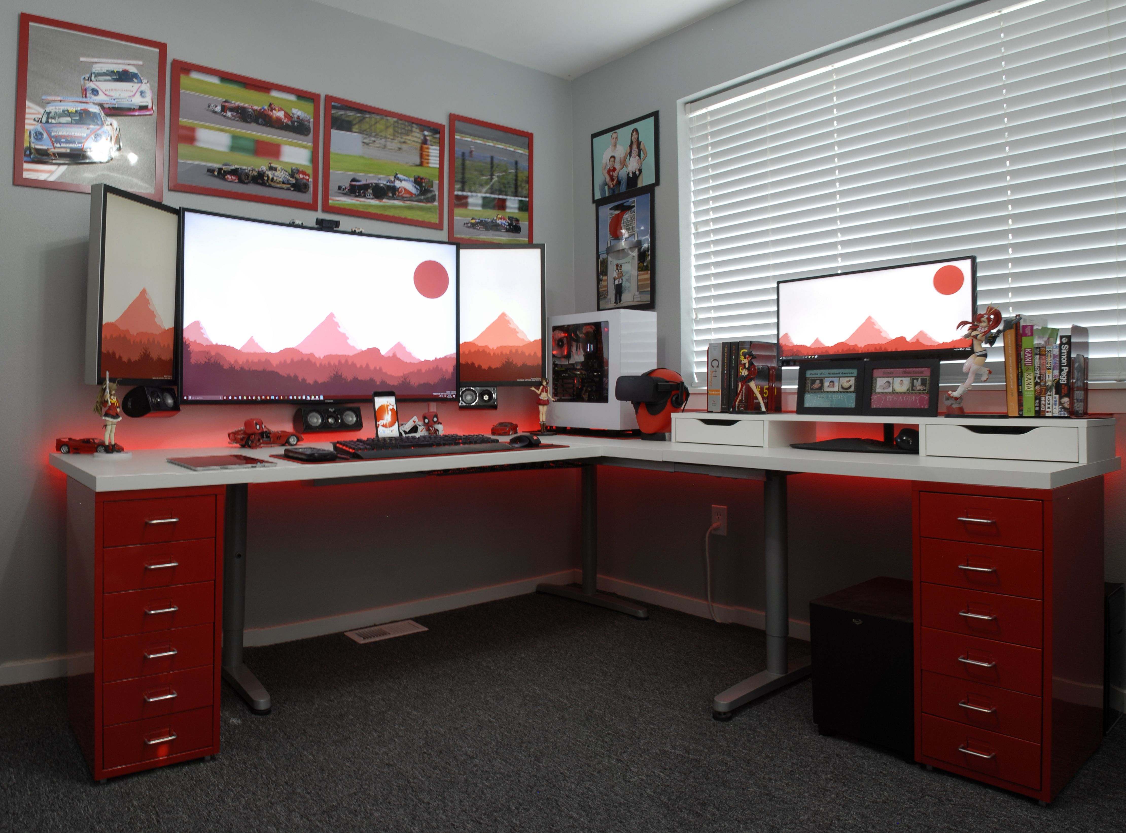 Best Home Office Setup Home Office Battlestation Offices And Pc 39s Computer