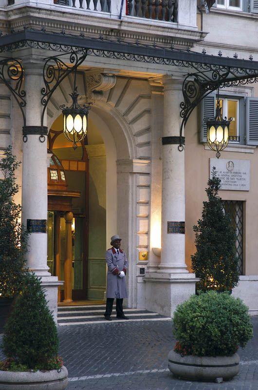 Ingresso Grand Hotel de la Minerva   Grand hotel, Rooftop ...