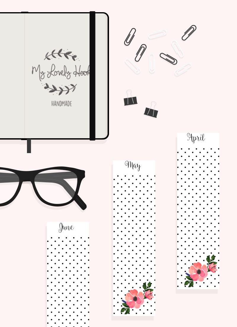 Free Printable Planner Dividers A6 By Mylovelyhook Randomness