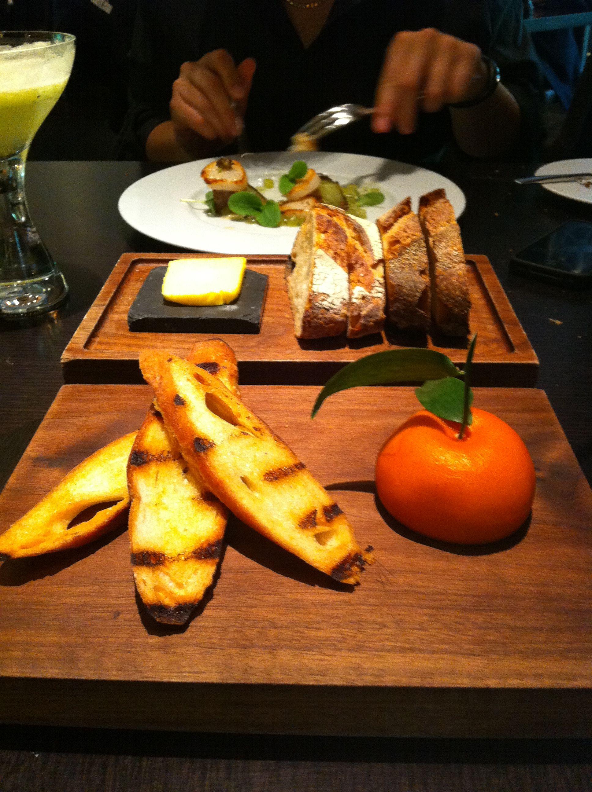 Meat fruit at Dinner by Heston Blumental