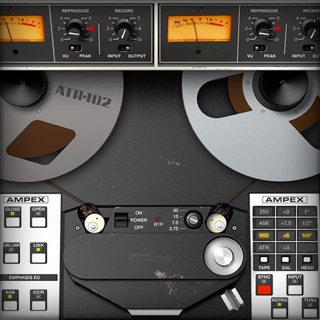 Ampex Atr 102 Mastering Tape Recorder Uad Audio Plugins Universal Audio Tape Recorder Music Mixing Slate Digital