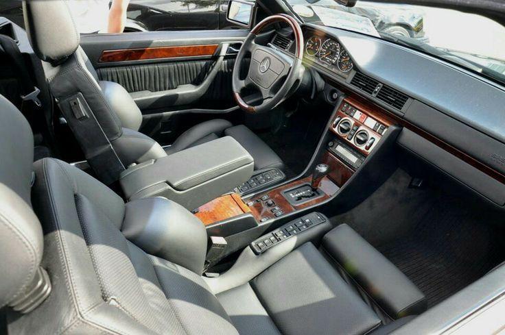 Awesome Mercedes: Mercedes E-class w124 E500 with Recaro seats    w