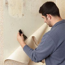 How To Strip Wallpaper Stripped Wallpaper Removable Wallpaper Plaster Walls