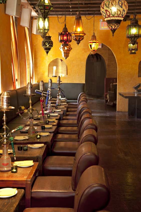 West Village Moroccan Restaurant With Indoor Outdoor