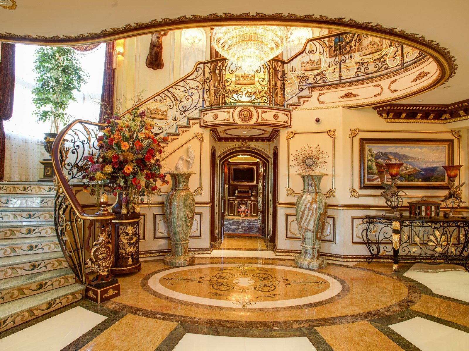 Magnificent Mediterranean Estate Bradbury CA Single Family