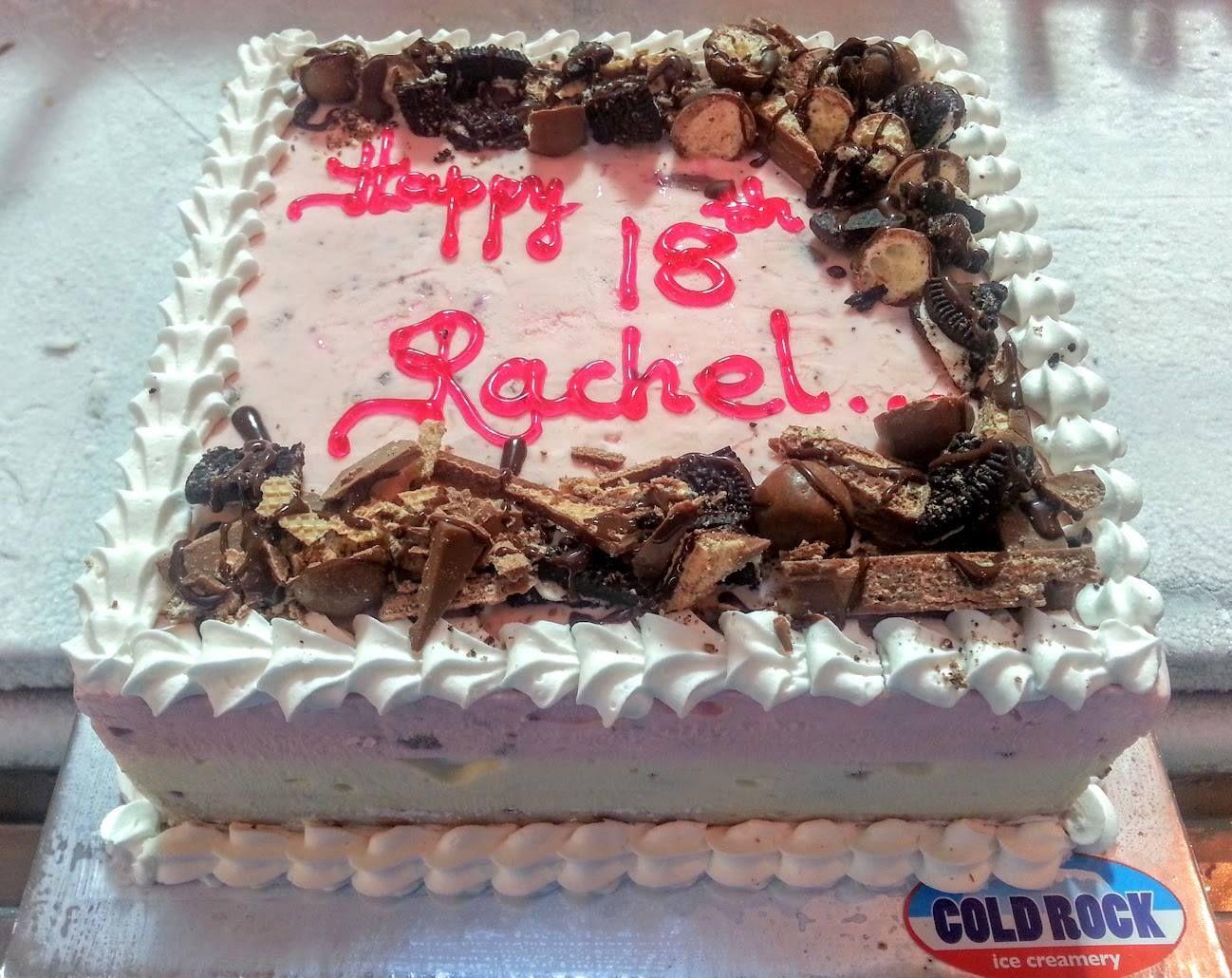 Happy Birthday Rachel Coldrock Food Foodporn Brisbane Ice