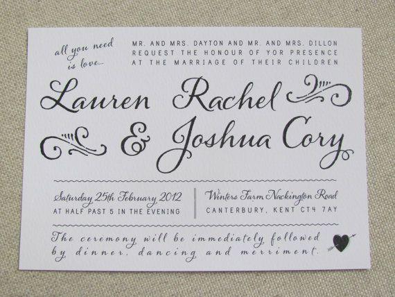 whimsical wedding invitations by amelia lane paper