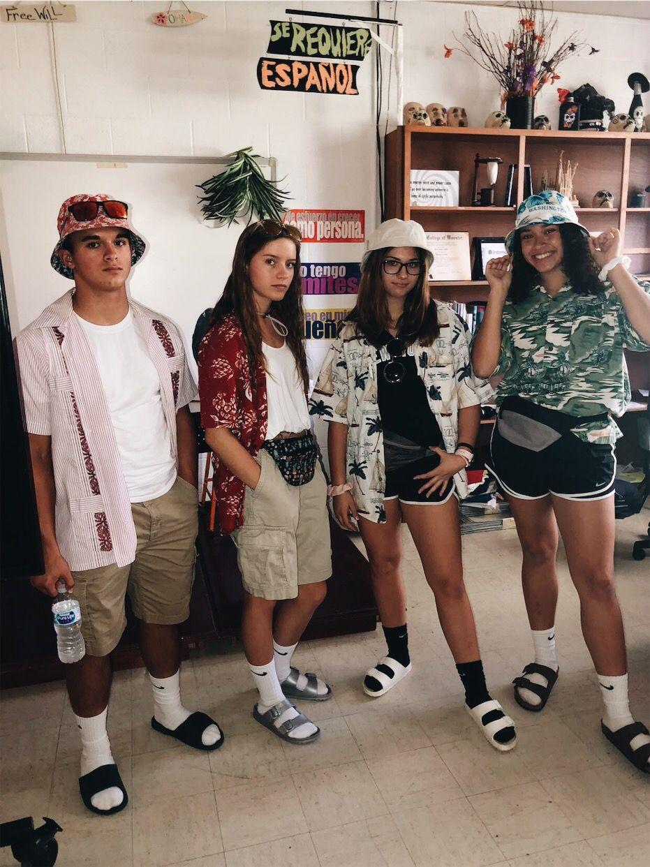 tourist  costume  vacation  spirit week  school spirit