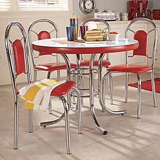 5 Piece Retro Dining Set From Seventh Avenue Kitchen Dining