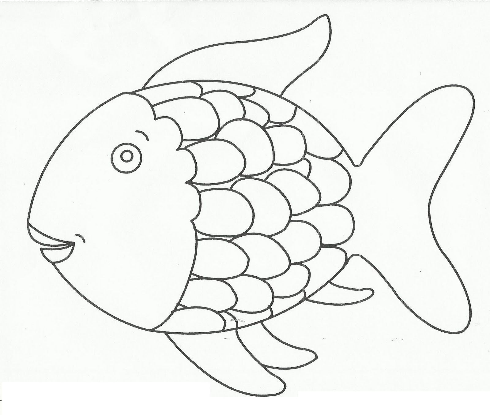 Fish With Scales Round