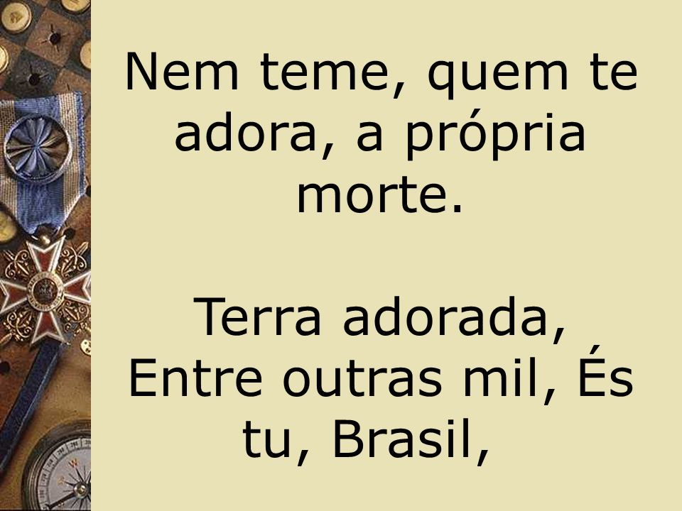 """Apresentação """"Amor ao Brasil Ernesto Caruso Seção 1 Hino Nacional ..."""