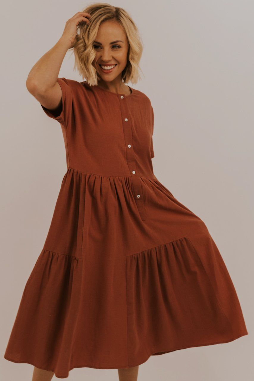 Dress Outfits   Casual dress outfits, Modest dresses, Casual dresses