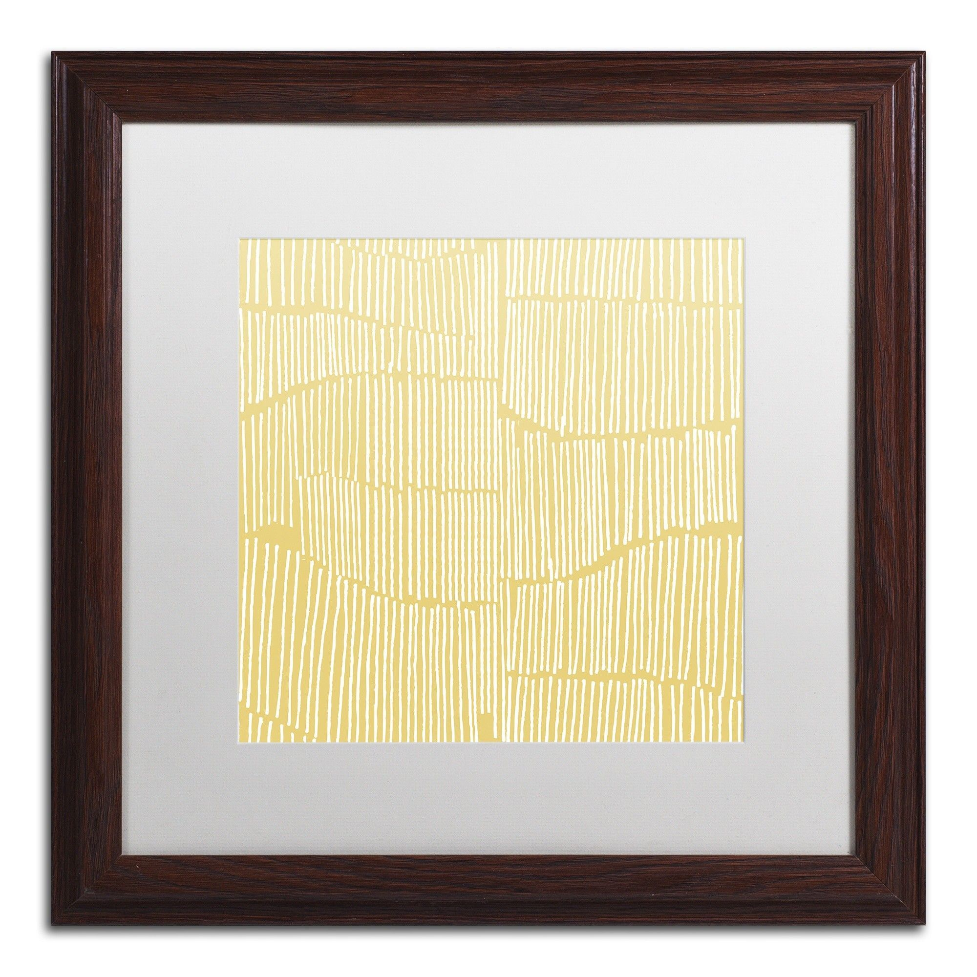 Spaces Between II by Kavan & Co Matted Framed Graphic Art | Graphic ...