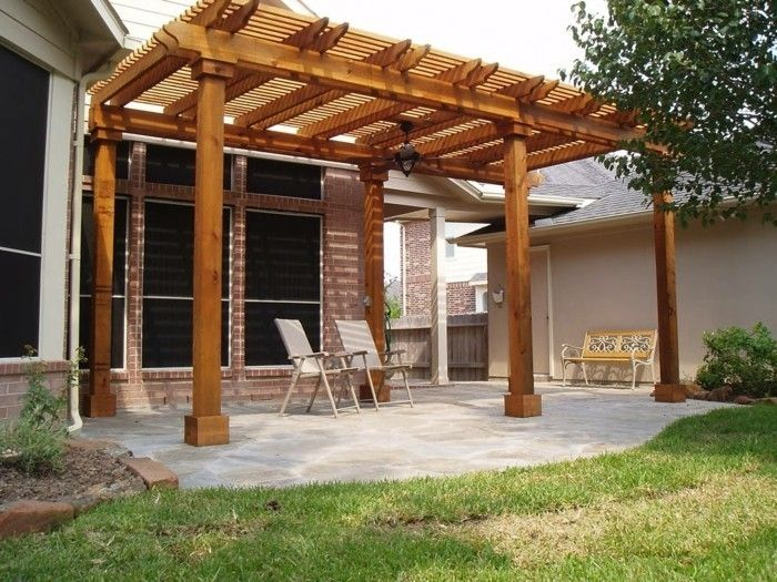 comment construire une pergola guide pratique et mod les diy pergola bois pergola et. Black Bedroom Furniture Sets. Home Design Ideas