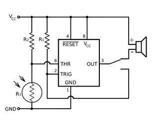 Laser Tripwire Alarm | Tariq | Laser tripwire, Wireless