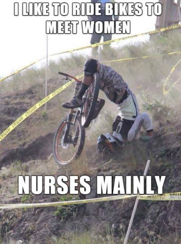 That S Gonna Leave A Mark Mountain Biking Quotes Cycling Memes