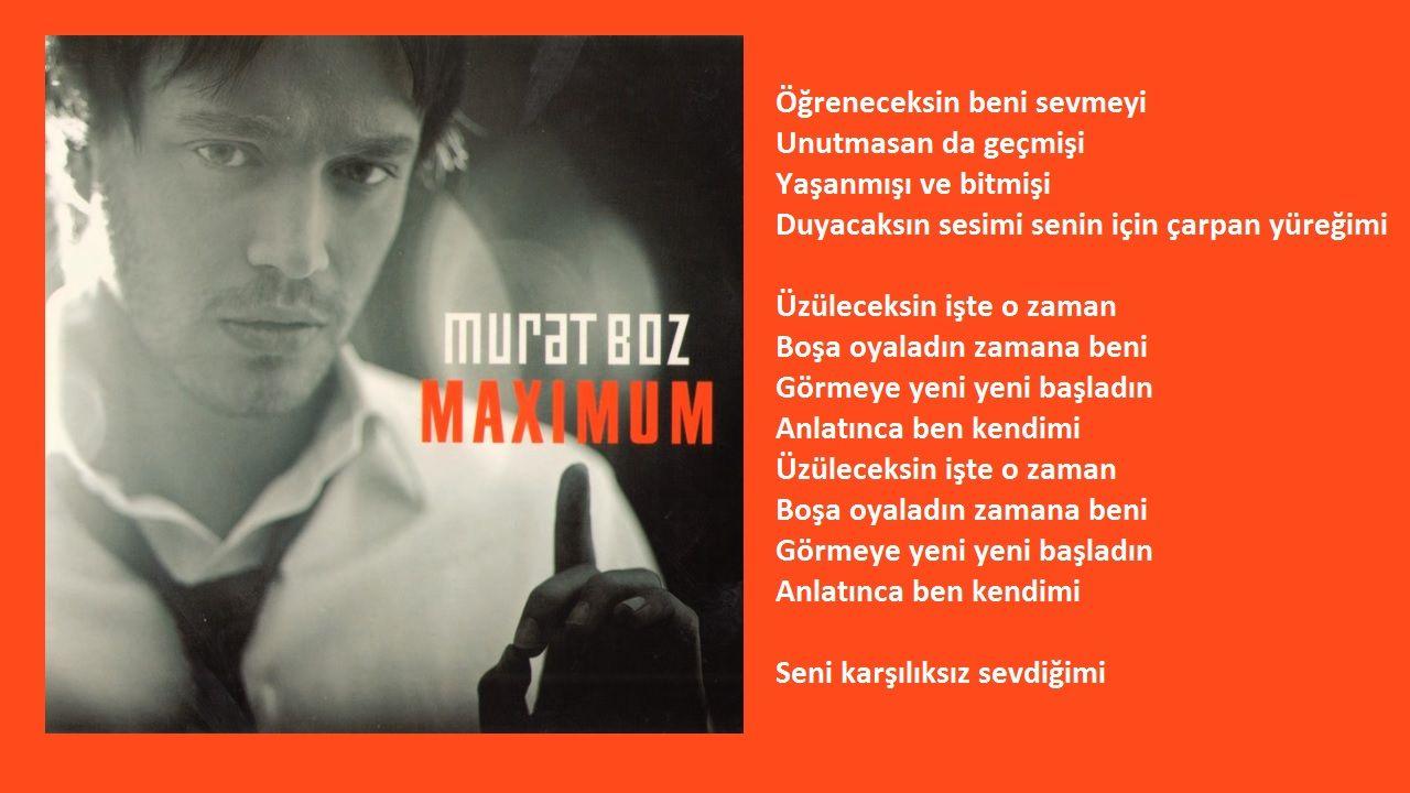 Murat Boz Uzuleceksin Orijinal Karaoke 2021 Karaoke Ses