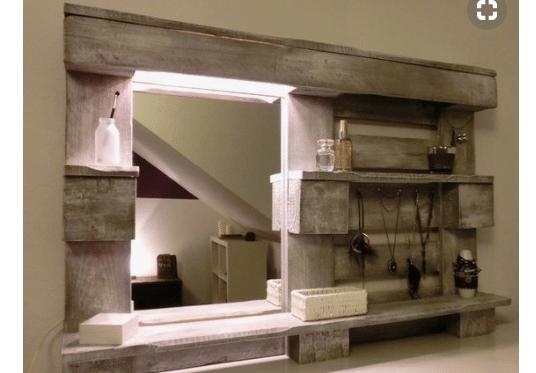 Riciclo dei pallet: 20 idee per creare mobili con bancali per casa e