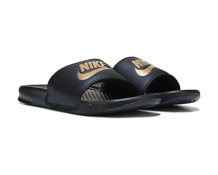 Nike Benassi JDI Slide Sandal Black