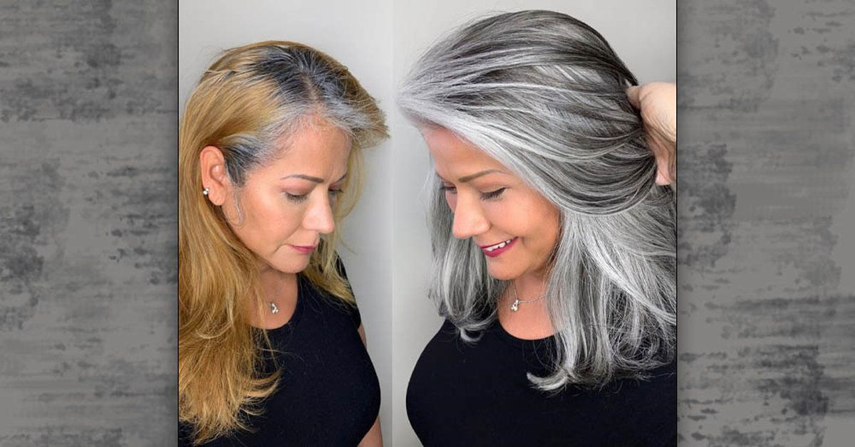 Hairstylist Shares Gorgeous Photos Of People Embracing Their Gray Hair In 2020 Grey Hair Transformation Aveda Hair Color Long Gray Hair