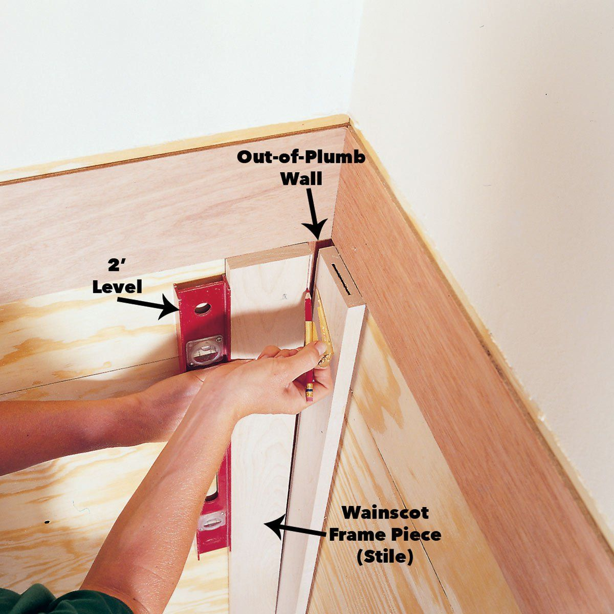 how to scribe for a perfect fit | woodworking | woodworking