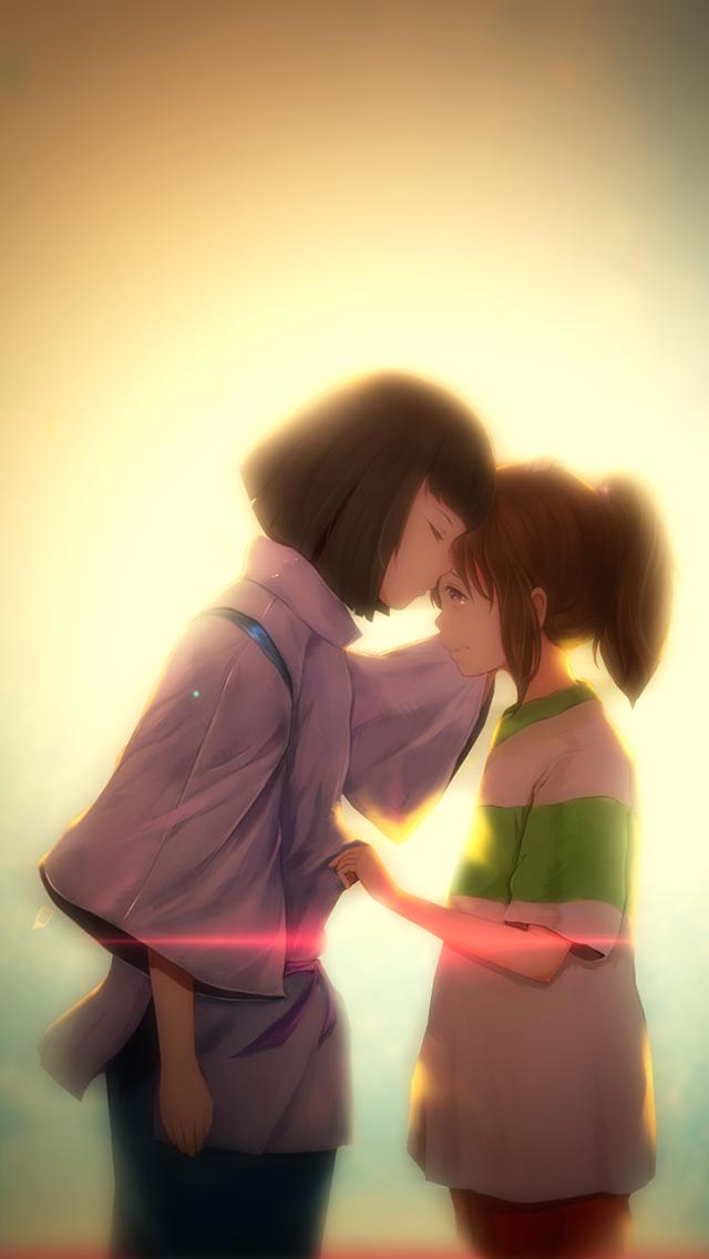 Spirited Away Iphone 5 Wallpaper By Etrnlpanda On Deviantart Studio Ghibli Illustration Ghibli